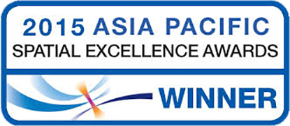 2015 Asia Pacific Spatial Excellence Awards