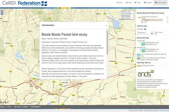 Boola Boola Forest study