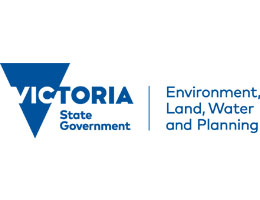 Victorian Government Department of Environmental, Land, Water and Planning logo
