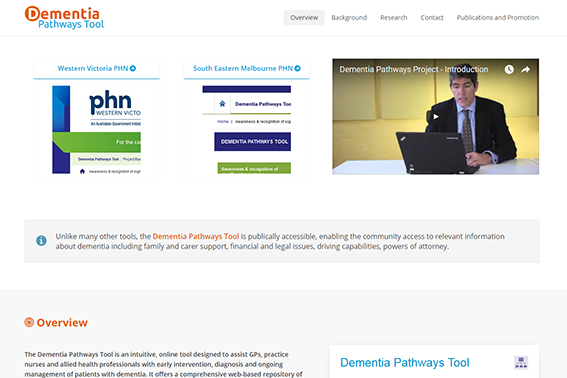 Dementia Pathways Tool