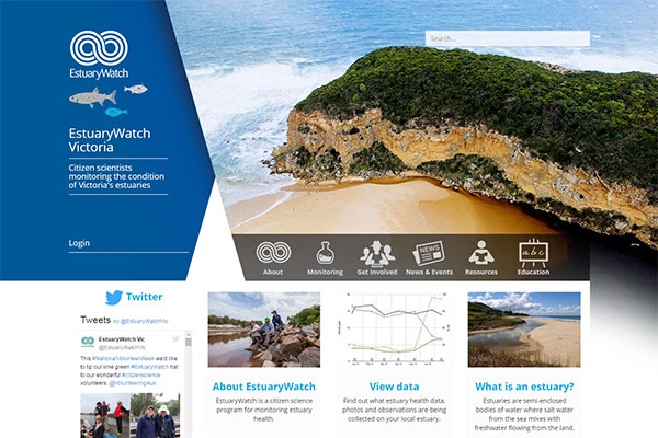 EstuaryWatch website