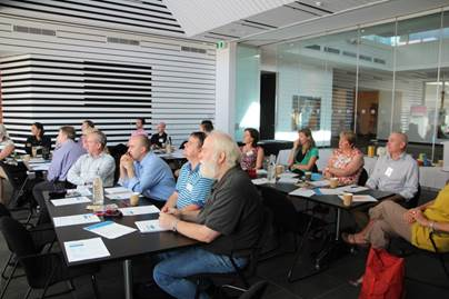 Participants at the HUL/Smart Cities workshop at City of Ballarat in March 2016
