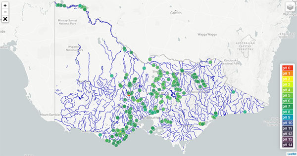 river detective map