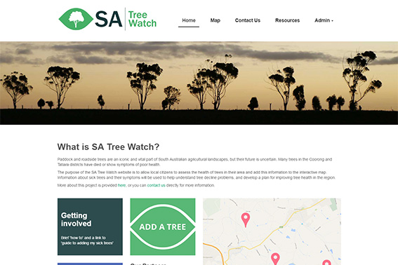 South Australia (SA) Tree Watch website