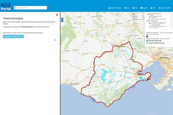 Corangamite Flood Portal