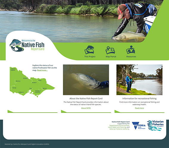 Native Fish Report Card - website
