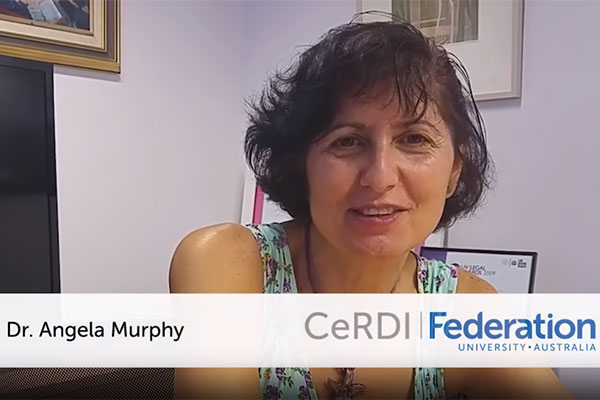 Dr. Angela Murphy - Speaking about Impact Research at CeRDI