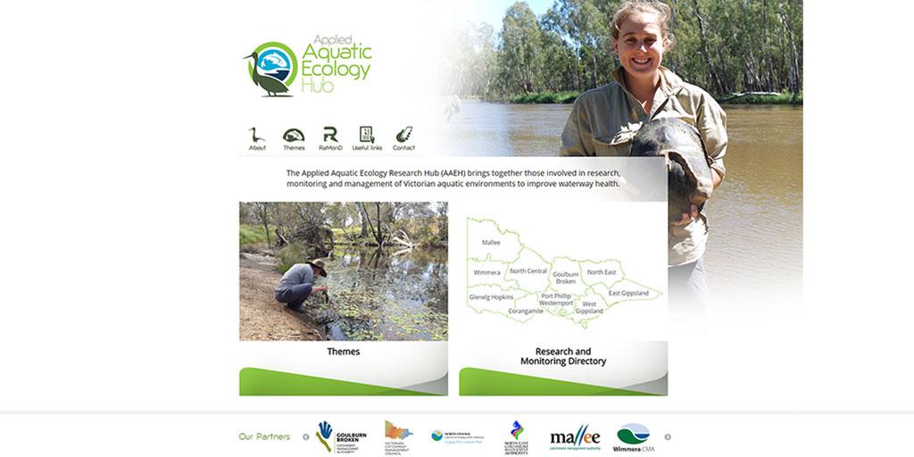 Aquatic Ecology Hub website