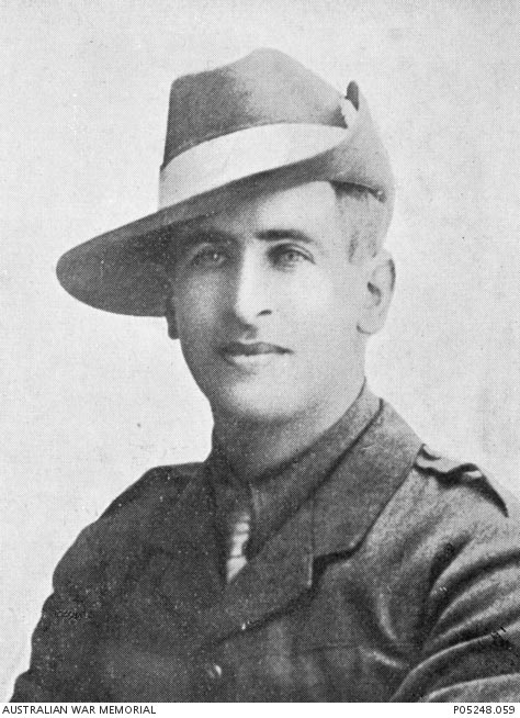 Edwin Wesley Hauser, former teacher and soldier, who was killed in action in May 1917