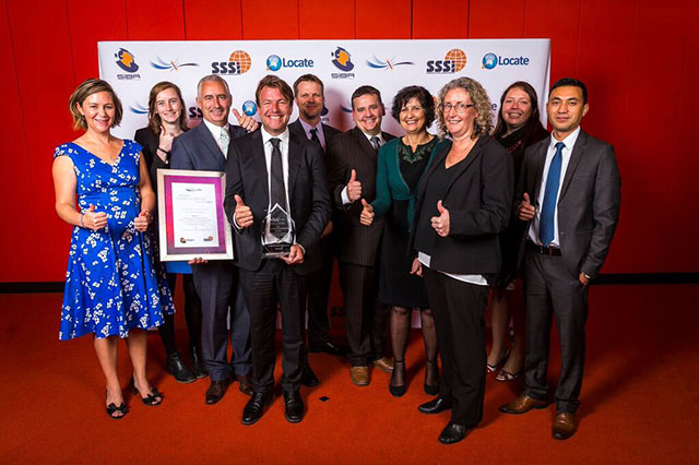 Federation University and Corangamite CMA win Asia Pacific Spatial Excellence Award