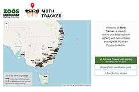 Moth Tracker  app