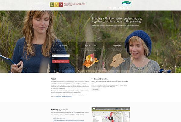 Natural Resource Management Planning portal