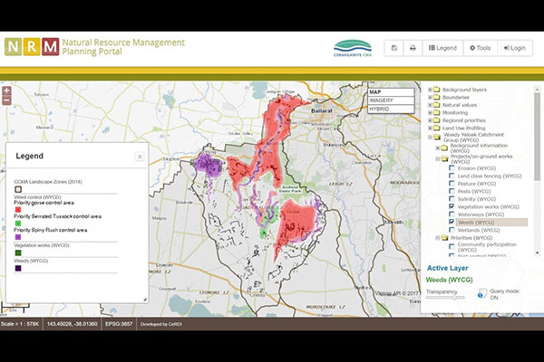 Natural Resource Management Planning Portal