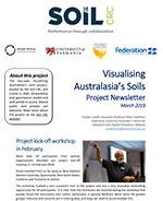 Visualising Australasia's Soils Newsletter, March 2019