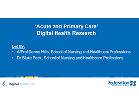 Acute and Primary Care