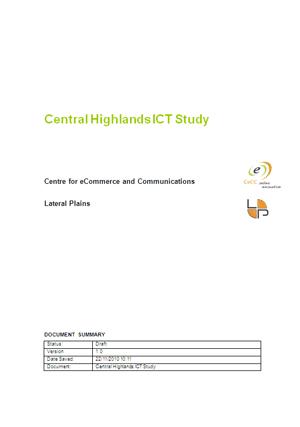 Central Highlands ICT Study