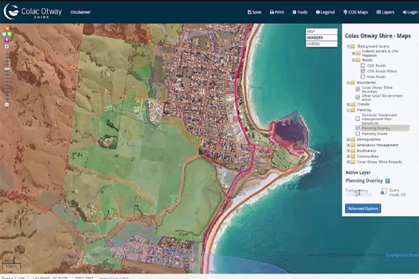 Save & share your own maps - Colac Otway Shire Web GIS
