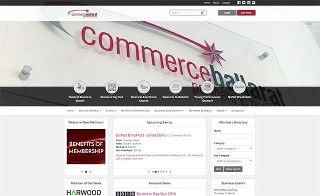 Commerce Ballarat Online Services launch