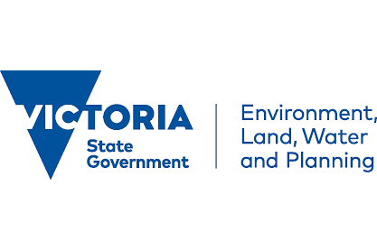 The Department of Environment, Land, Water and Planning logo
