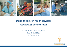 Digital Thinking in Health Services