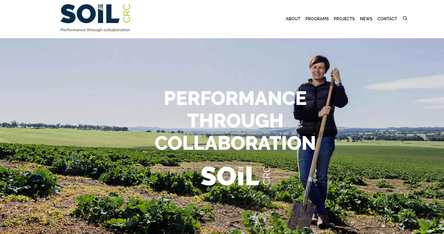 Soil CRC: Investment for New Research