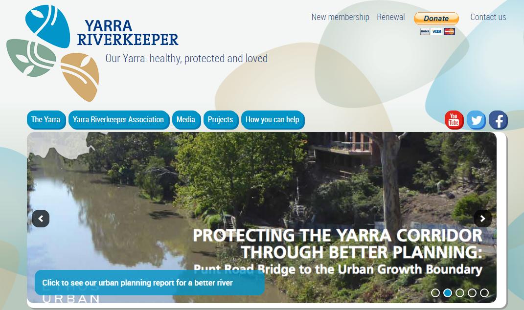 Yarra Catchment Atlas - an online spatial information portal