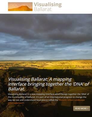 Visualising Ballarat