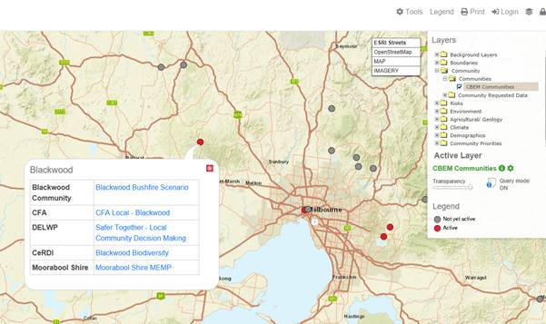 Emergency Management Victoria: My Community Portal