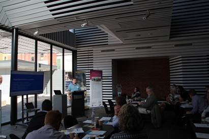 CeRDi�s Andrew MacLeod presenting at the HUL/Smart Cities workshop at City of Ballarat in March
