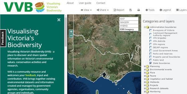 Visualising Victoria's Biodiversity