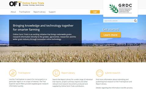 Online Farm Trials: data audit