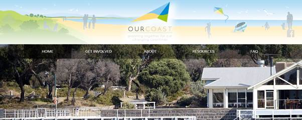 Our Coast website Screen Grab