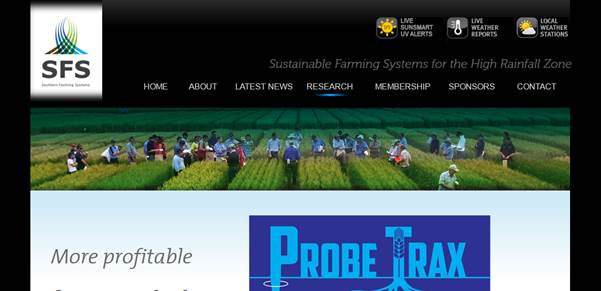 Southern Farming System Probe Trax