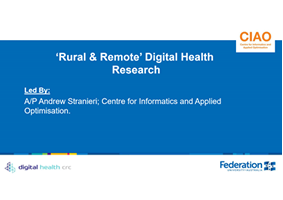 Rural and Remote Care