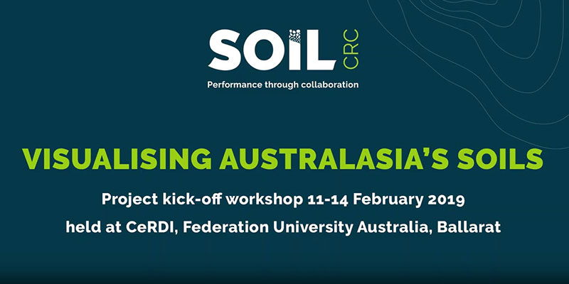 Visualising Australasia's Soils - Ballarat Workshop 2019